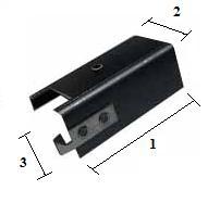 Dissipador de Calor p/ Semicondutores c/ Encap. TO220