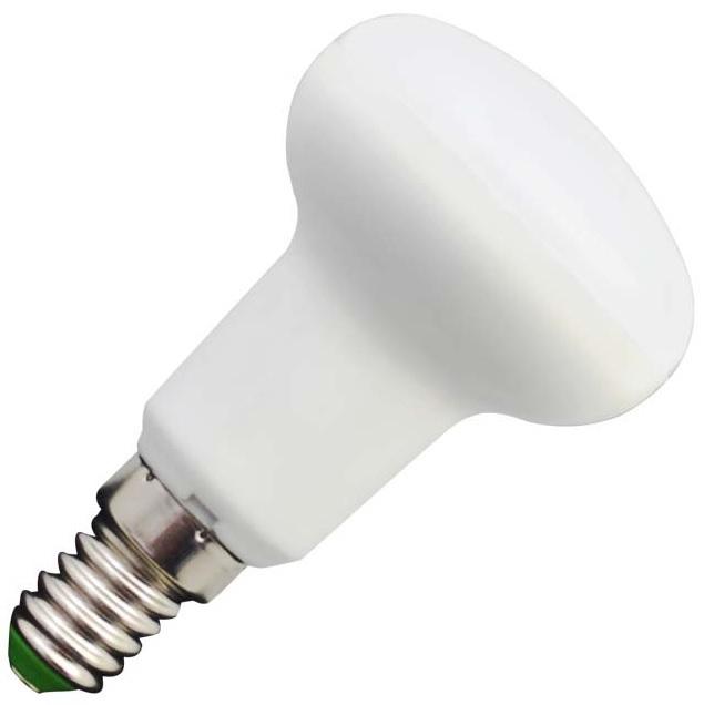 Lampada LED R50 220V E14 7W Branco Q. 3000K 120º 520Lm