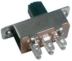 Interruptor 2 Pol./6 Pinos ON-ON 12V