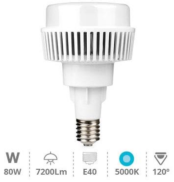 Lampada LED Industrial 220V E40 80W Branco F. 5000K 7200Lm - GSC
