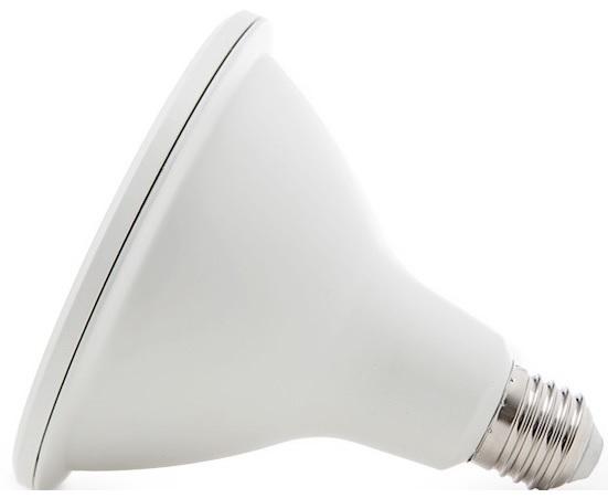 Lampada LED COB 220V E27 PAR30 12W Branco Q. 3000K 900Lm