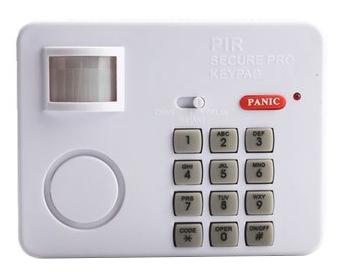 Alarme c/ Sensor Movimento + Codigo Segurança
