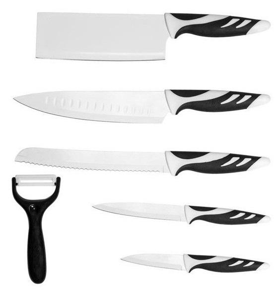 Conjunto de Facas Top Chef (6 Peças) - CECOTEC