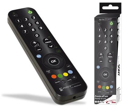Comando Universal Dedicado EASY SIMPLEX p/ TVs LCD SONY