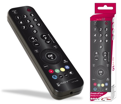 Comando Universal Dedicado EASY SIMPLEX p/ TVs LCD LG