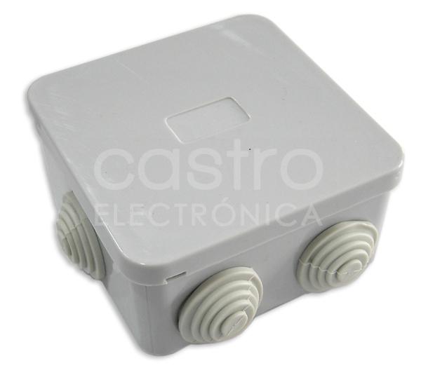 Caixa Estanque Quadrada 80x80x40mm - GSC