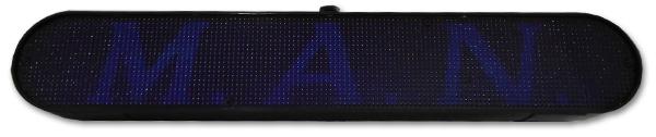 Placa de Mensagens em LED (24V) p/ Veículos - ALL Ride