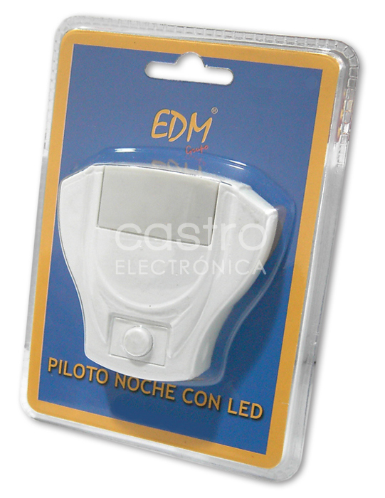 Luz Presença 5 LEDs Vermelhos c/ Int. ON-OFF 1W - EDM