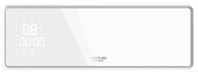 Aquecedor de Parede Ready Warm 5300 Power Box 2000W (Branco) - CECOTEC