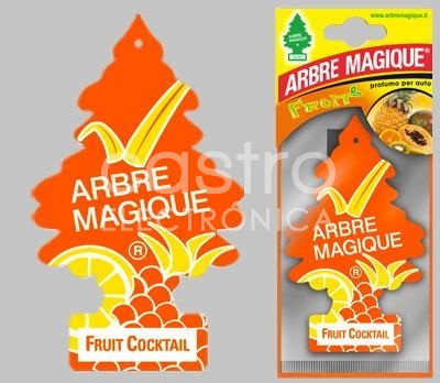 Ambientador Auto (FRUIT COCKTAIL) - ARBRE MAGIQUE