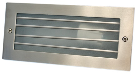Projector Encastrar Muro/Chão Aluminio c/ Proteção E27 IP54 - GSC