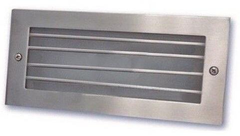 Projector Encastrar Muro/Chão Aluminio c/ Proteção LED 5W Branco F. 6000K 350Lm IP54 - GSC