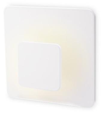 Projector de Parede Interior 3W Branco Q. 3000K - GSC