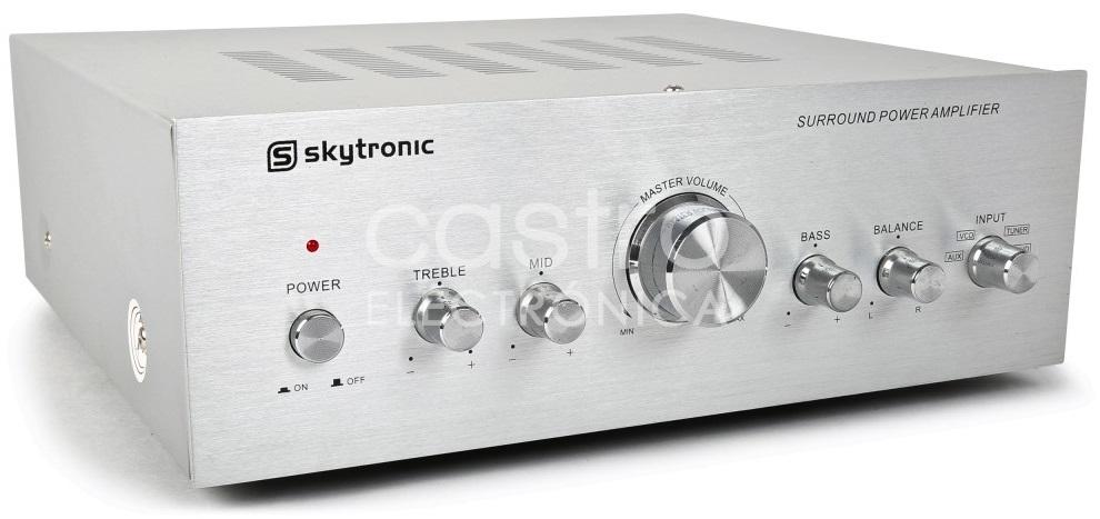 Amplificador de Karaoke 2x 50W RMS - Skytronic