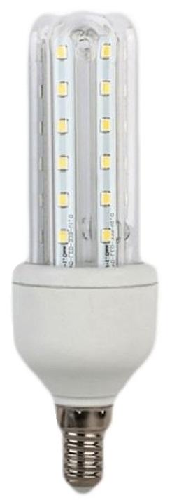 Lampada LED E14 3U 220V 7W Branco Q. 3000K 595Lm