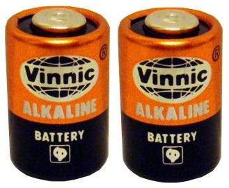 Blister 2x Pilhas Alcalinas 10A / L1022 / LR10A 9V - VINNIC