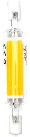 Lampada LED R7S 78mm 4W Branco Quente 3000K 450Lm - Vidro