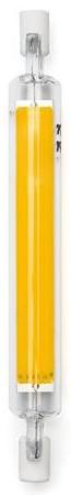 Lampada LED R7S 118mm 7W Branco Quente 3000K 800Lm - Vidro