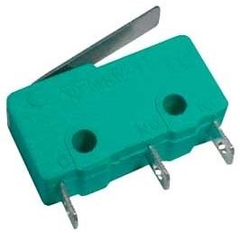 Micro Switch Miniatura c/ Patilha 17mm