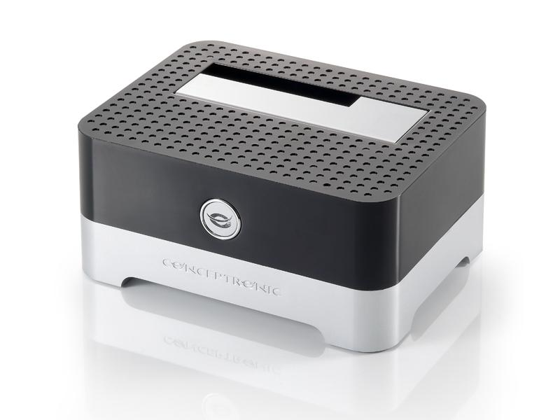 Docking Station USB2.0 p/ Discos Rigidos 2,5/3,5 - CHDDOCK - Conceptronic