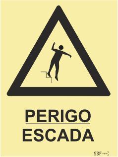 Sinais de Perigo - Vinil 200x300mm