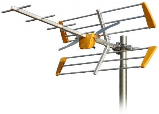 Antena Digital TDT UHF 10 Elementos LTE (YAGUI) - TELEVES