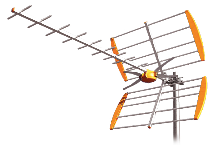 Antena Digital TDT UHF Gama L C21-69/13 E PLUS - TELEVES