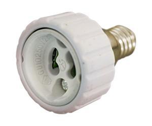Suporte Adaptador Lampada E14 -> GU10