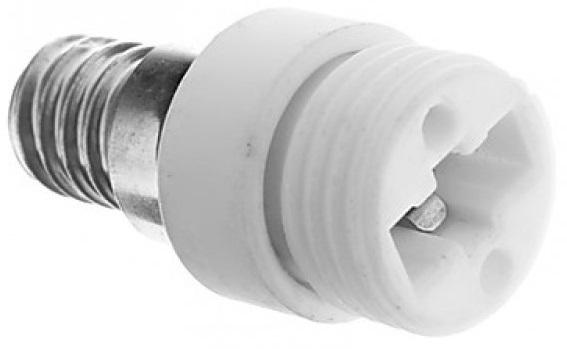 Suporte Adaptador Lampada E14 -> G9