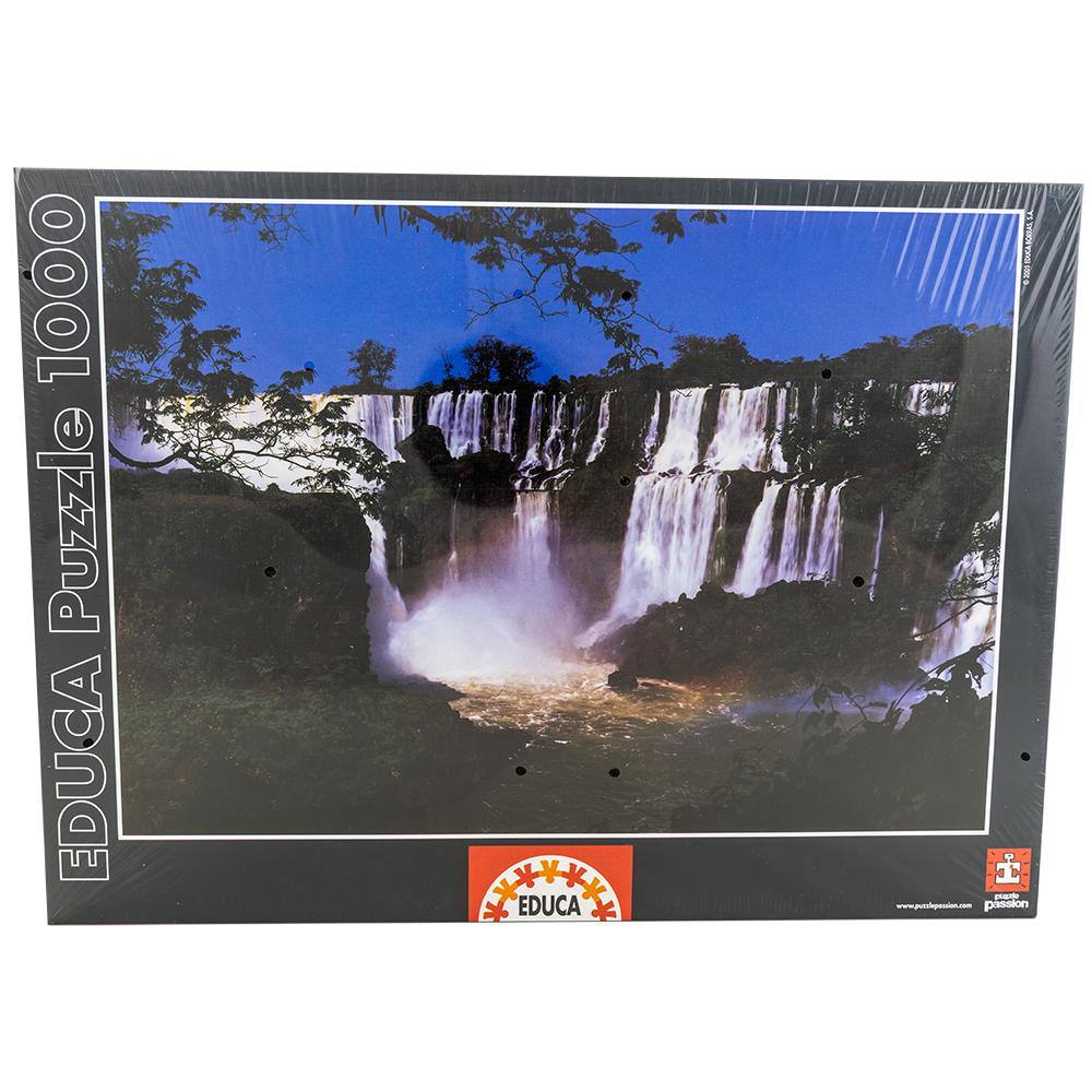 Puzzle Cataratas do Iguaçu, Brasil (1000 Peças) - EDUCA