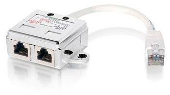 Distribuidor / Switch Duplo RJ45 - EQUIP