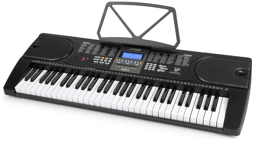 Orgão Teclado Musical Electrónico (61 Teclas) KB1 - MAX