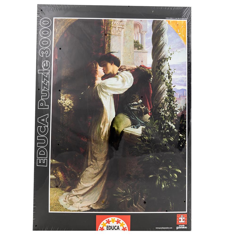 Puzzle Romeu e Julieta, Frank Dicksee (3000 Peças) - EDUCA