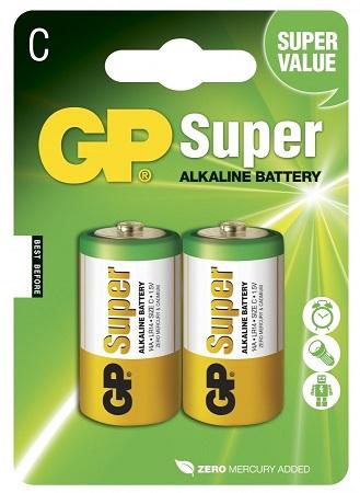 Blister 2 Pilhas Alcalinas LR14 - GP