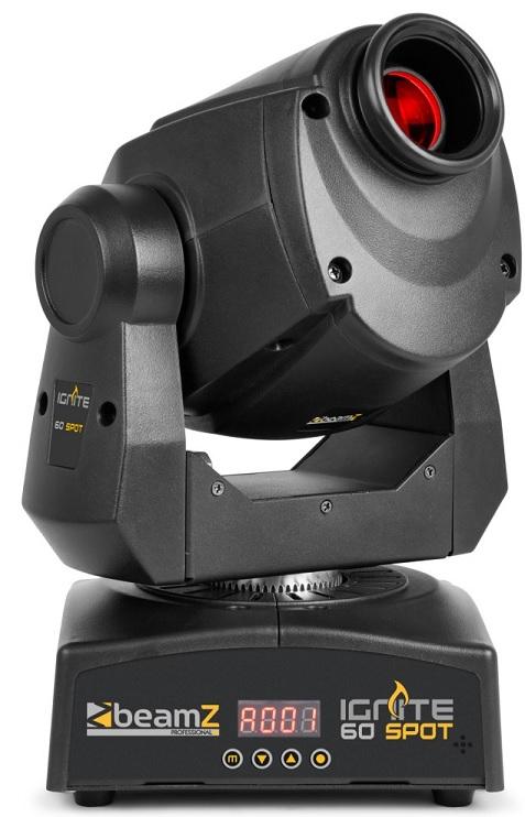 Moving Head LED Spot Profissional 60W DMX (IGNITE60) - beamZ