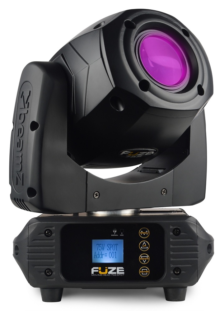 Moving Head LED 75W DMX 8 Cores + 1 (FUZE75S) - beamZ