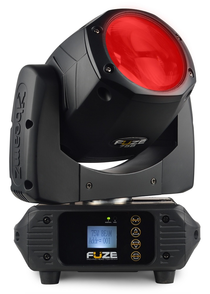 Moving Head LED 75W DMX 12 Cores + 1 (FUZE75B) - beamZ