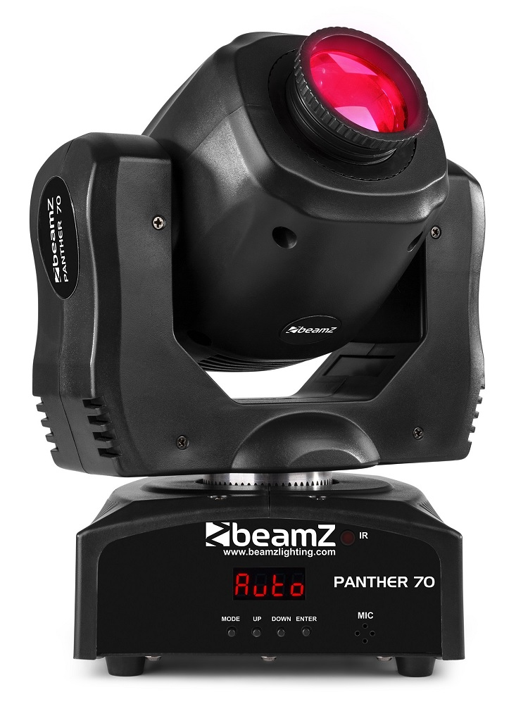 Moving Head LED Spot 70W 8 Cores DMX (PANTHER 70) - beamZ