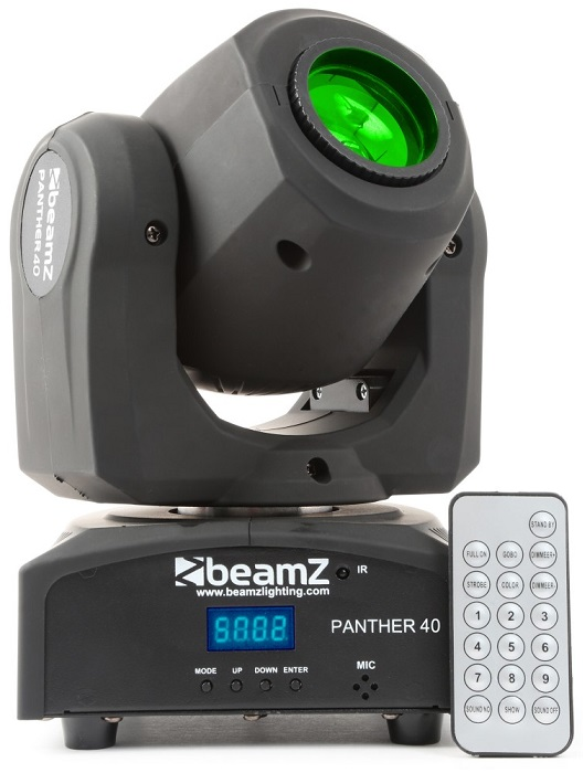 Moving Head 45W RGBW DMX (Panther 40) - beamZ
