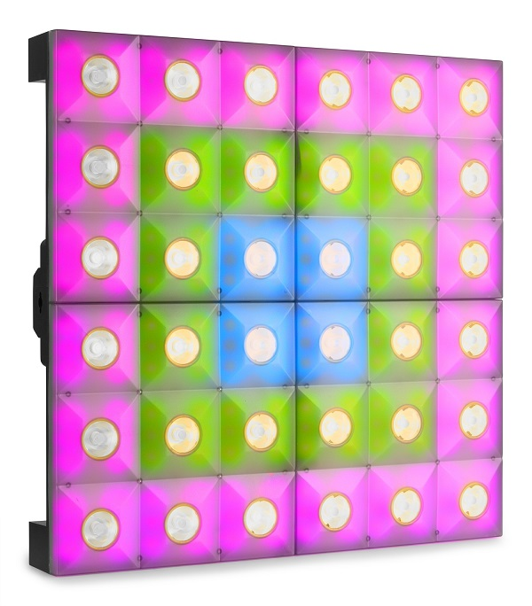 Painel 216x LED SMD RGB Hibrido Pixel Control (LCB366) - beamZ