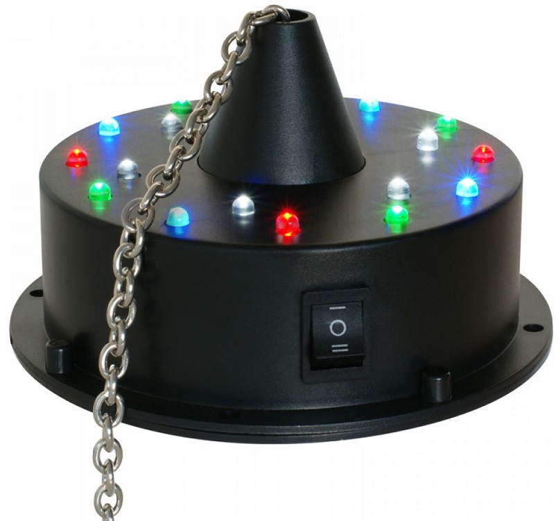 Motor de Bola de Espelhos a Bateria c/ 18 LEDs - beamZ