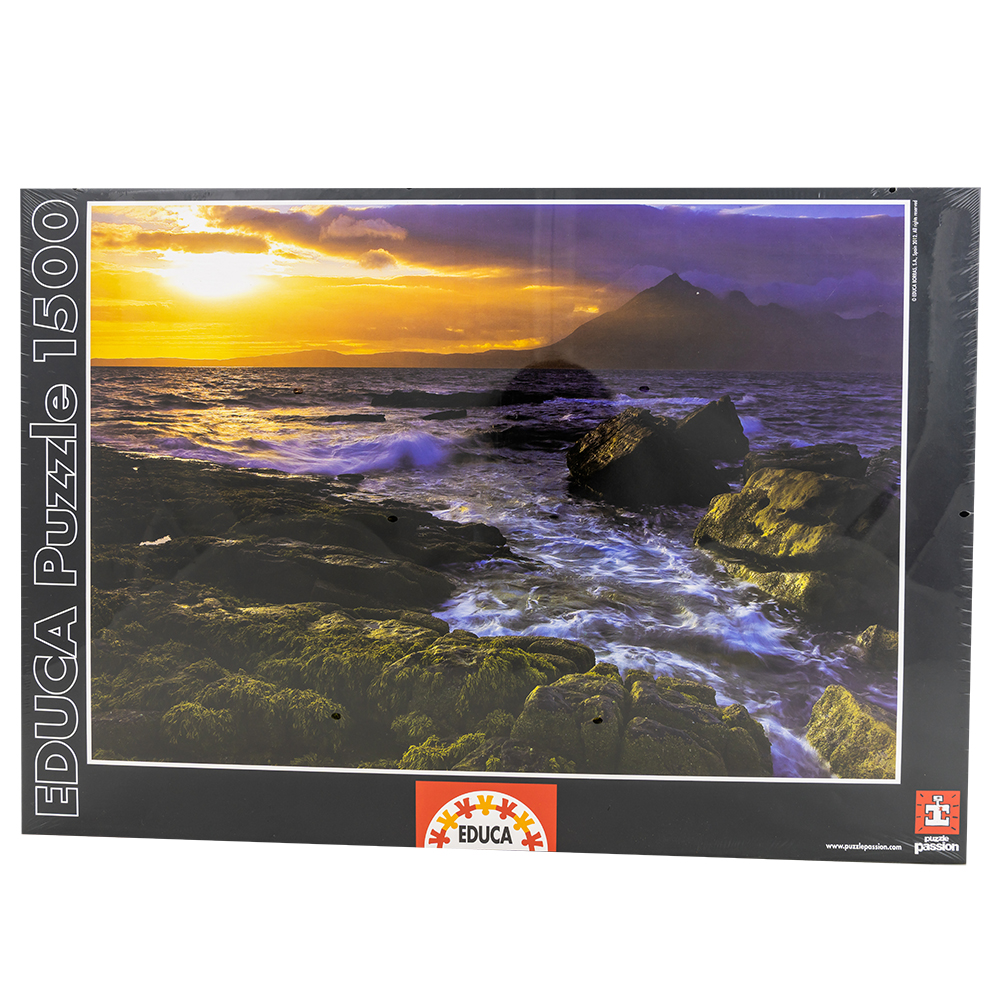 Puzzle Pôr do Sol nas Rochas (1500 Peças) - EDUCA