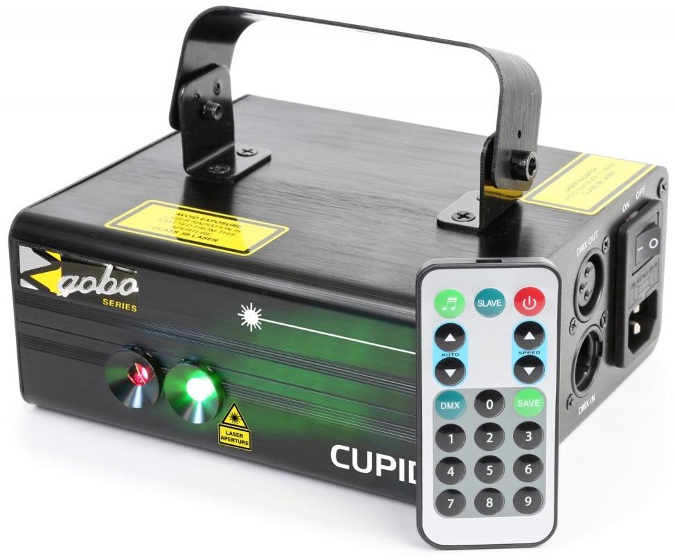 Laser Vermelho/Verde 150/60mW c/ Comando (Cupid Doble) - beamZ
