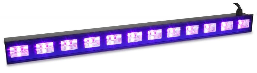 Barra Profissional 12 LEDs 3W UV (Luz Negra) BUV123 - beamZ
