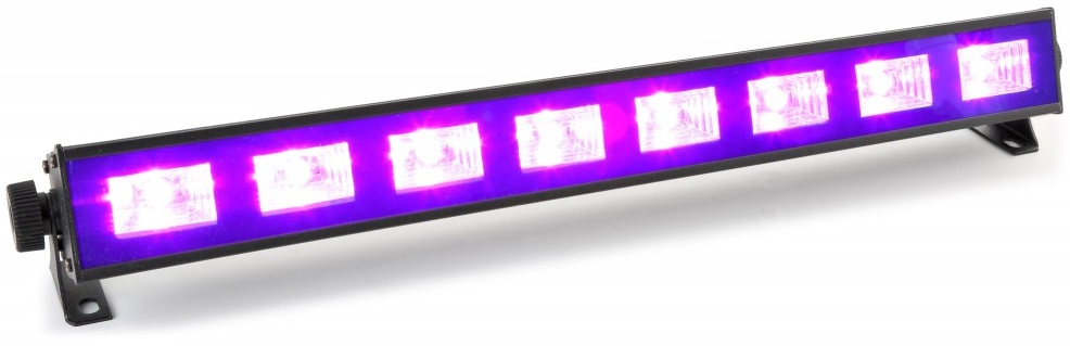 Barra Profissional 8 LEDs 3W UV (Luz Negra) BUV93 - beamZ