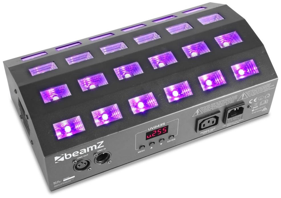Projector Strobe 24x LEDs 3W UV (Luz Negra) BUV463 - beamZ
