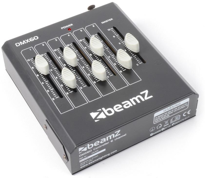 Controlador DMX 6 Canais a Bateria (DMX60) - beamZ