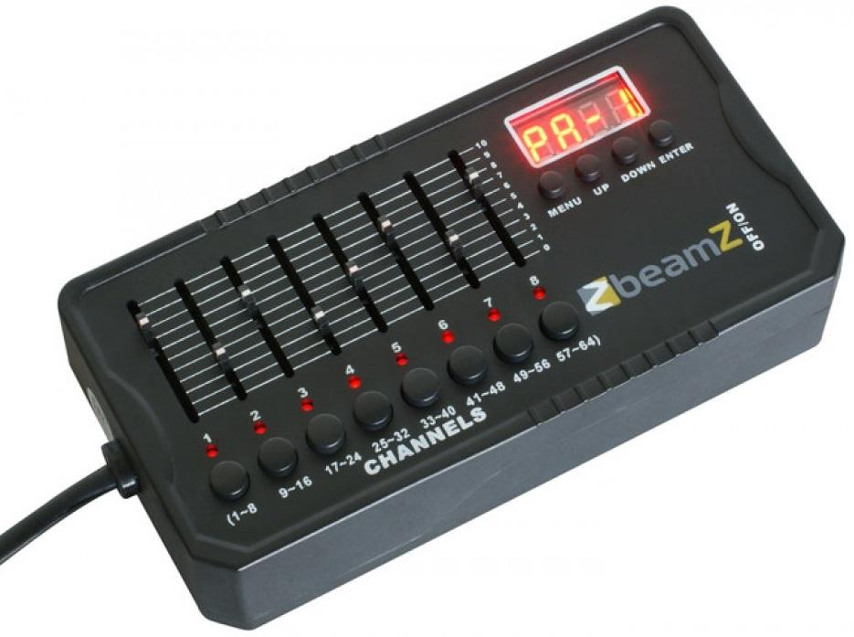 Mini Controlador DMX 512 (220V e/ou Bateria Recarregável) DMX-512 - beamZ