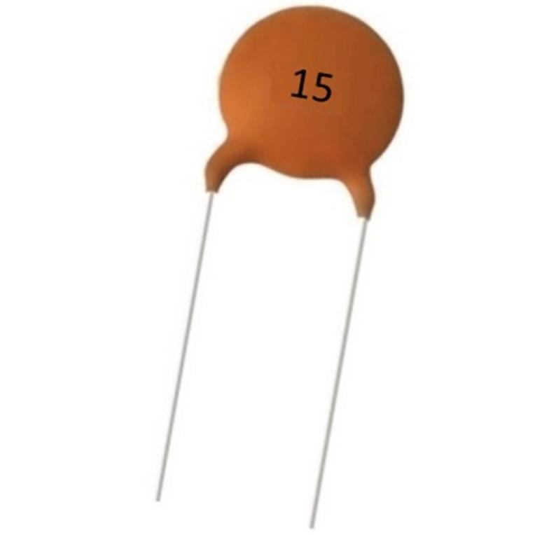 Condensador Ceramico 15pF