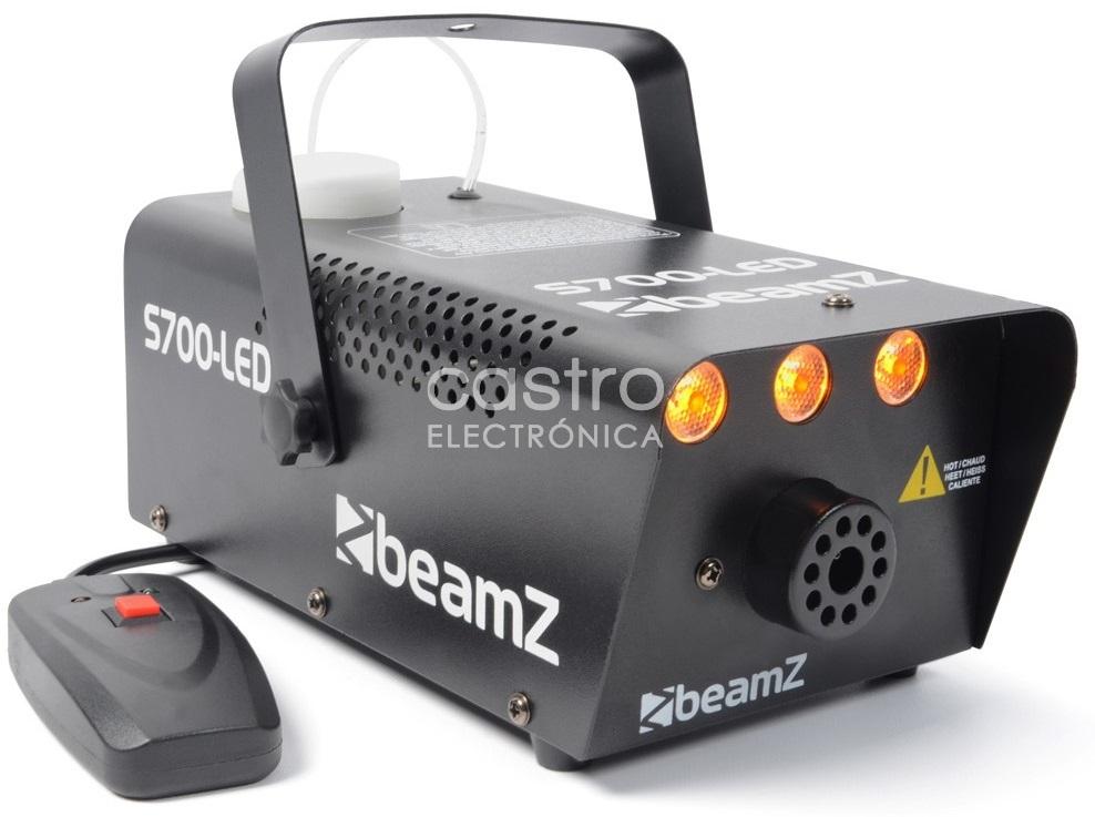 Máquina de Fumos 700W c/ Efeito Fogo em LED (S700-LED) - beamZ